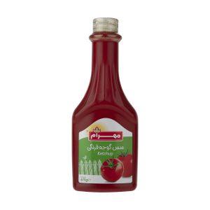 سس گوجه فرنگی مهرام مقدار 670 گرم