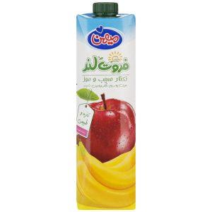 نکتار سیب و موز میهن حجم 1 لیتر