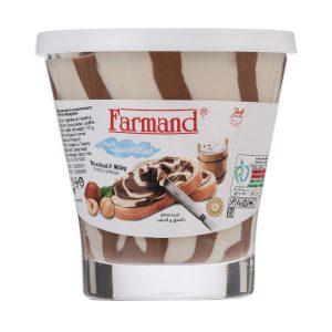 کرم کاکائو فندقی شیری فرمند مقدار 110 گرم