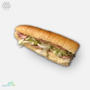 ساندویچ-ژامبون-ساده مرغ