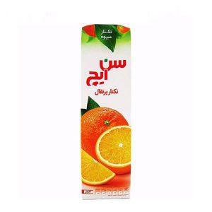 نکتار میوه پرتقال 1 لیتری سن ایچ